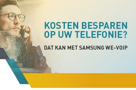 Samsung SCM met WE-Voip applicatie